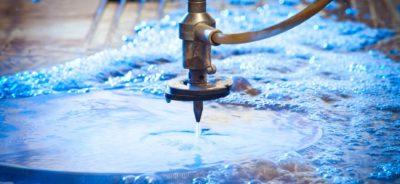 taglio ad acqua per ricavare guarnizioni