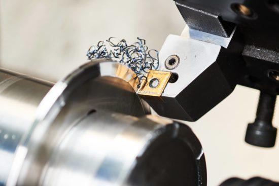 Tornitura i metalli lavorati con più frequenza