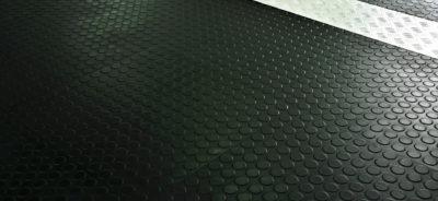 Tappeti industriali in gomma caratteristiche e destinazioni d'uso